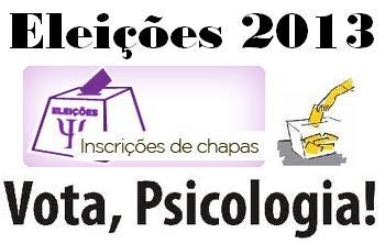 Edital de Convocação para Inscrição de Chapas - Eleições CRP-15 2013