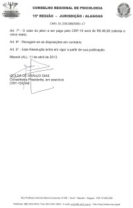 RESOLUÇÃO GESTÃO 2010-2013.2
