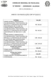RESOLUÇÃO GESTÃO 2010-2013.3
