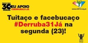Twitter & Face 30 Horas 2015