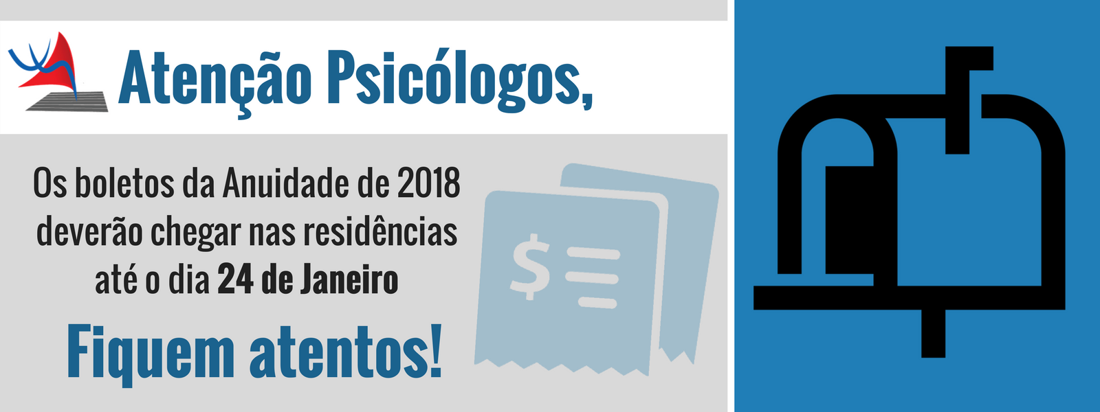 Boletos – Anuidade 2018