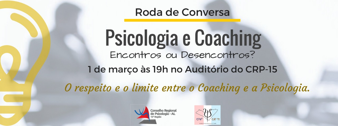 Roda de Conversa: Psicologia e Coaching